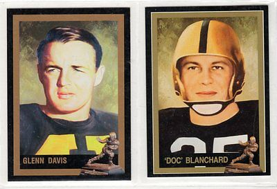 Glen Davis Doc Blanchard Army West Point Cadets Heisman Cards FREE Shipping