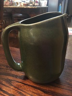"Antique Marblehead Pottery Earthenware Pitcher 8"" C. 1915 With Appraisal"