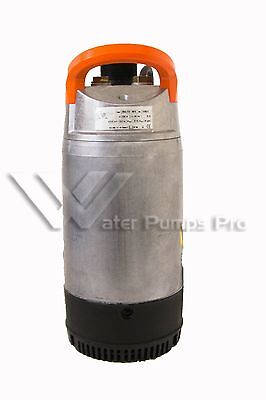 Goulds 2DW1011 Submersible Dewatering Pump, 1 HP, 115 V, Single Phase