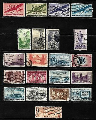 United States.  .a Splendid Collection Of Stamps From The United States  ..80653