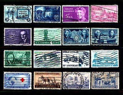 United States....a Splendid Collection Of Stamps From The United States....58261