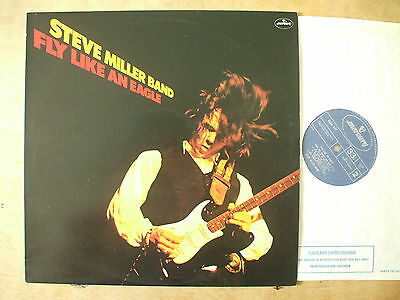 Steve Miller - Fly Like An Eagle - 1976 England Lp Record