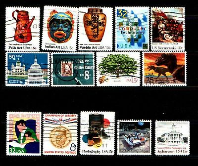 United States....a Splendid Collection Of Stamps From The United States....58259