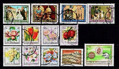 Lebanon..a Great Collection Of Stamps From Lebanon....58374