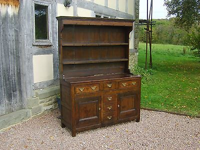 18th century north wales oak  dresser