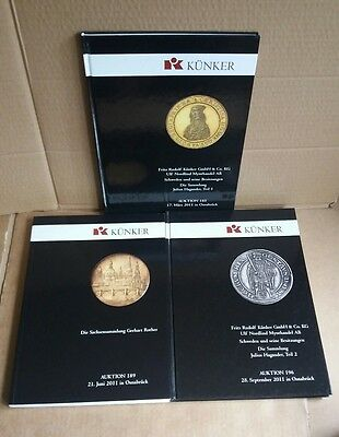 Kunker Coin Auction Catalogues - March June & September 2011