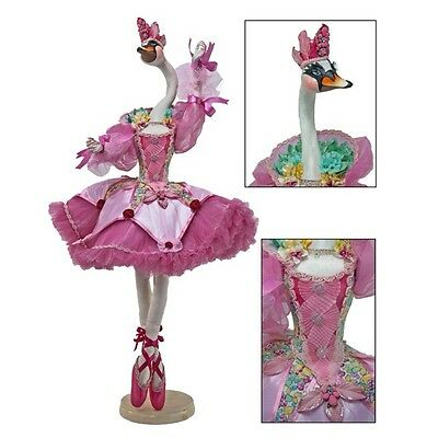 """Katherine's Collection Pirouette Odette Bellefleur Pink 36"""" Swan Doll NEW"""