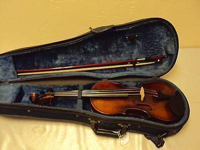 Vintage Georg Carl Krezfchmann 4/4 size violin copy Made in Germany 1795