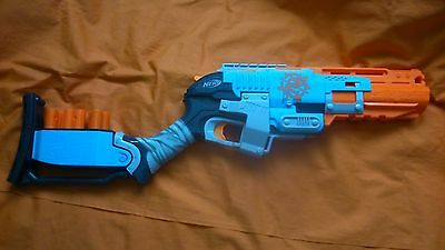 Nerf Zombie Strike Sledgefire - Complete with shells and bullets