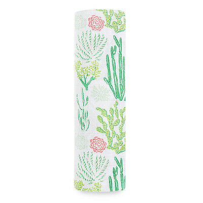 Aden and Anais | Classic Swaddle 1-pack Cactus Bloom
