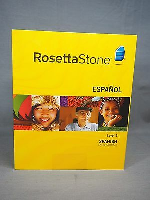 NEW Rosetta Stone Spanish Version 3 (Latin America) Level 1 Mac & Windows