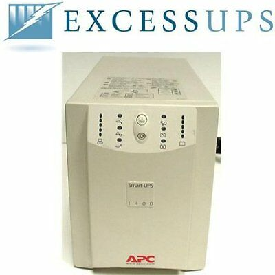 Apc Smart-Ups 1400Va Su1400Net With New Batteries. 1 Yr Warranty-Free Shipping!