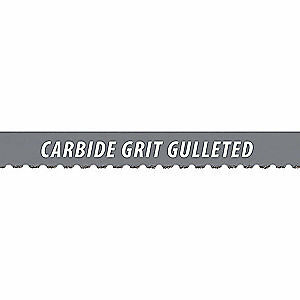 "MORSE Carbide Grit Band Saw Blade,Carbide,1/2 In. W, 7'9"" - ZCG040 TCG GM"