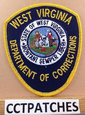 West Virginia Department Of Corrections (Police) Shoulder Patch Wv