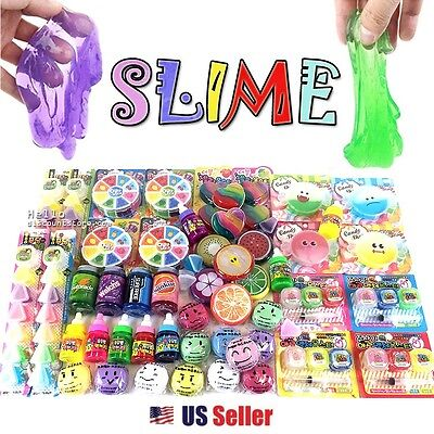 Assorted 5pcs Jelly Pudding Monster Slime Toy Soft Squeeze Squishy (Random)