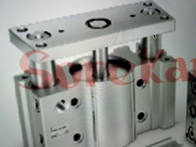 Pneumatic Air slide cylinder double acting slide bearing type