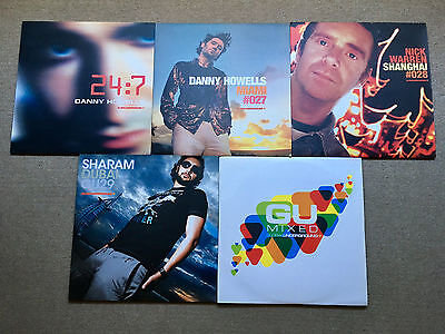 Global Underground LP bundle - Sharam Danny Howells Nick Warren GU Mixed + DVD
