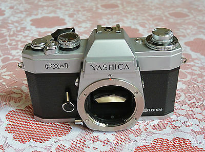 Vintage Yashica FX 1 Really clean working camera....READ!!!!!!