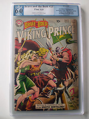 The Brave and the Bold #23 (Apr-May 1959, DC) PGX 6.0//CGC?CBCS