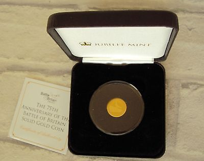 Gold Coin 2015 75th Anniversary Battle of Britain Proof Like 9ct 16.00mm 1.00g