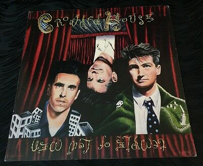 Crowded House Temple Of Low Men 12 x 12 Flat Promo Poster Rare Find!