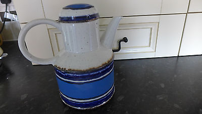 Vintage Midwinter Stonehenge Moon Coffee Pot Designed by Eve Midwinter 70's