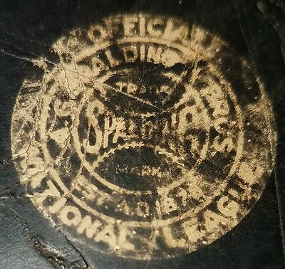 1920-1942 dual sided Vintage EXTREMELY RARE Game Used SPALDING NHL hockey Puck