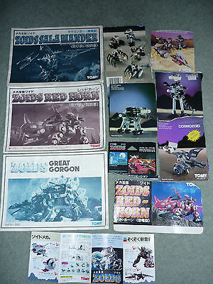 Zoids - Instructions & Others