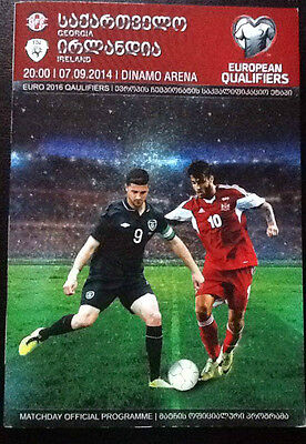 Georgia V Republic Of Ireland 7/9/2014 Euro Championship