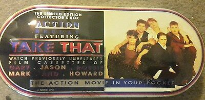 """Rare Limited Edition Collection box Action Featuring """"Take That"""" 1994"""