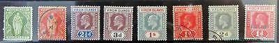 Br. Virgin Islands Selection Of M/mint Used Definitives To 1/- **see Scans**