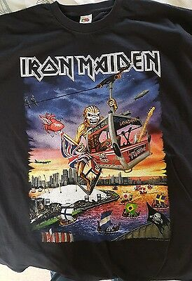 Iron Maiden Xl Event Shirt London