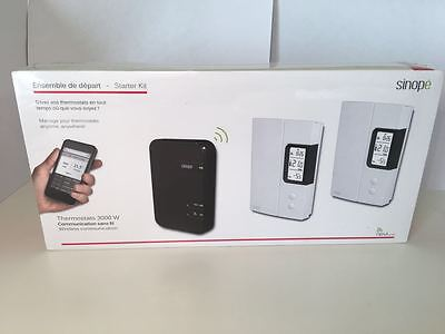 NEW Sinopé Starter kit – Electric heating thermostats