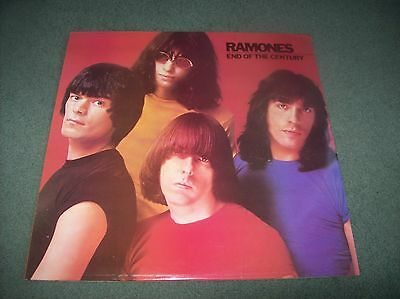 Ramones - End Of The Century LP first pressing UK issue 1980 on Sire SRK 6077