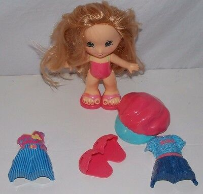 Fisher Price Snap 'N Style Keri Doll Outfits Pink Shoes a