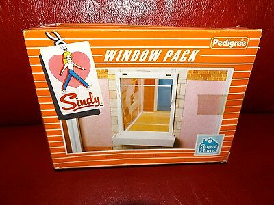 Vintage Sindy Window Pack for House/ Super Home 1980's
