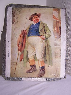 Vintage wooden jigsaw - Pickwick Papers - Tony Weller.