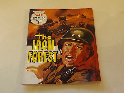 WAR PICTURE LIBRARY NO 414!,dated 1967!,V GOOD for age,great 50!YEAR OLD issue.