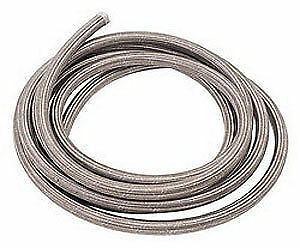 Russell 630280 Steel Braided Hose -6 an Hose Fuel/Oil/Water Line 25'