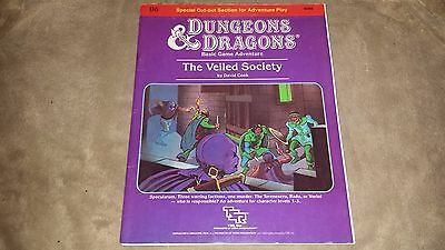 Dungeons & Dragons - The Veiled Society - Soft Cover - TSR B6 9086 - 1984