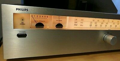 Philips 102 stereo am/fm tuner,vintage classic,rare