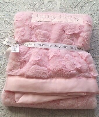 Baby Baby.  Beautiful Pink Blanket.