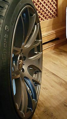 19 inch ZITO 935 5x112 GREY 5 stud Audi VW  alloy wheels deep concave with tyres