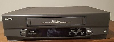 Sanyo VHR5428 VHS VCR Video Cassette Recorder/Player
