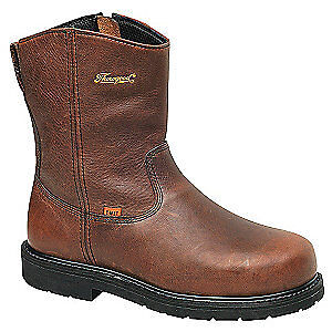 THOROGOOD SHOES Wellington Boots,10,W,Brown,Steel,PR, 804-4132, Brown
