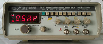 GW INSTEK GFG-8020G FUNCTION GENERATOR. Awesome !!!!