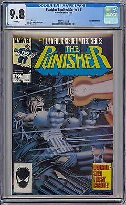 PUNISHER #1 - CGC 9.8 - WP NM/MT 1st SOLO LIMITED SERIES 1986