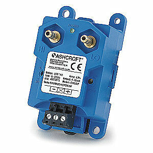 ASHCROFT Pressure Transducer,Range 0 to 5 In WC, CX8MB2425IW