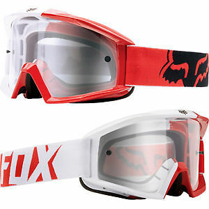 Fox Main MX 180 Race Goggles Red Adult from Westside Motorcycles