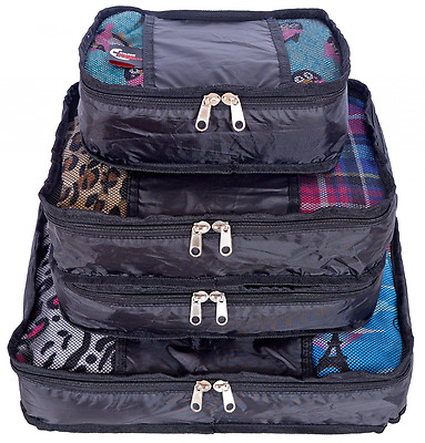 Swiss Travel Products Packing Cubes Set of 4